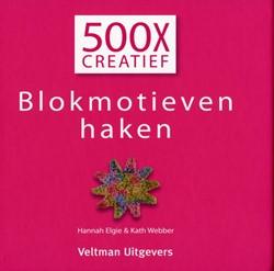 500X CREATIEF - BLOKMOTIEVEN HAKEN ELGIE, HANNAH