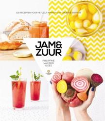 Jam & zuur -100 recepten voor het zelf inm aken van groente en fruit Goes, Philippine van der