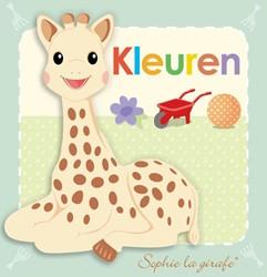 Baby kartonboekje Sophie - Kleuren Sirett, Sawn
