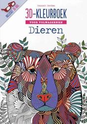 3D kleurboek -voor volwassenen Davies, Hannah