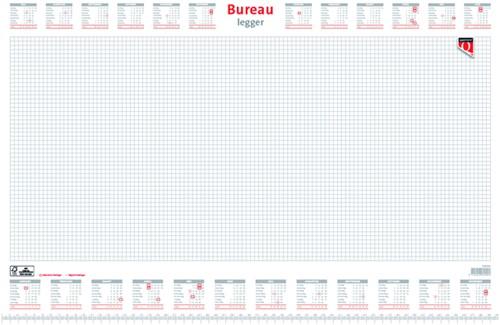 BUREAU-ONDERLEGBLOK 2021 QUANTORE -KALENDERS BTB 336062 60X40CM
