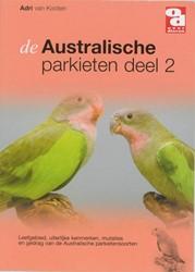 Australische parkieten -leefgebied, uiterlijke kenmerk en, mutaties en gedrag van de Kooten, Adri van