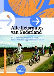 Alle fietsroutes van Nederland -de 25 mooiste fietstochten in beeld