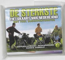 De sterkste fietskaart van Nederland -bevat: deel 1 Noord- en Midden -Nederland ; deel 2 Midden- en