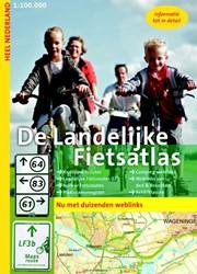 De Landelijke Fietsatlas Nederland -1: 100.000