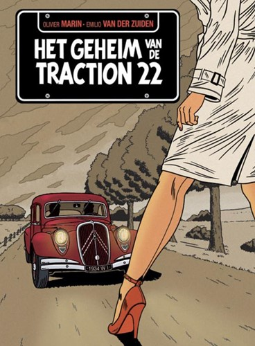 Het geheim van de Traction 22 Marin, Olivier