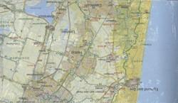 Bonnefooikaart Noord Holland -REGIO NOORD HOLLAND alleen per set te bestellen EBERHARDT, J.F.G.