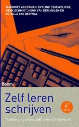 Zelf leren schrijven -schrijfvaardigheid voor psycho logie, pedagogiek en sociale w Ackermann, Margriet