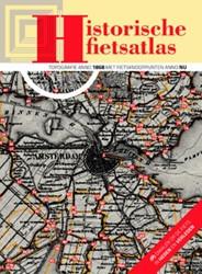 Historische fietsatlas -topografie anno 1868 met fiets knooppunten anno nu Eberhardt, John