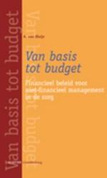 Van basis tot budget -financieel beleid voor niet-fi nancieel management in de zorg Sluijs, A. van