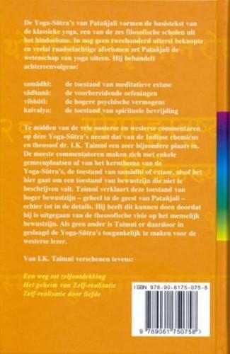 De yoga sutra's van Patanjali -de wetenschap van yoga Taimni, I.K.-2