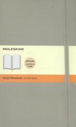 NOTITIEBOEK MOLESKINE LIJN LARGE ZACHTE -NOTITIEBOEKJES BTC IMQP616G4 KAFT BEIGE