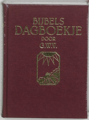 Bijbels dagboekje G.W.V.