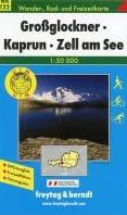Grossglockner, Kaprun, Zell am See 1 : 5 -Wander-, Rad- und Freizeitkart e