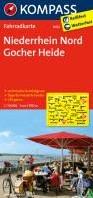 Kompass FK3052 Niederrhein Nord, Gocher -Fietskaart 1:70 000