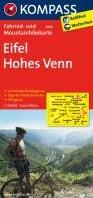 Kompass FK3058 Eifel, Hohes Venn -Fietskaart 1:70 000