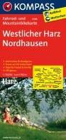 Kompass FK3048 Westliche Harz, Nordhause -Fietskaart 1:70 000