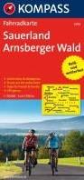 Kompass FK3054 Sauerland, Arnsberger Wal -Fietskaart 1:70 000