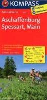 Kompass FK3072 Aschaffenburg, Spessart, -Fietskaart 1:70 000