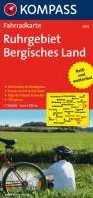 Kompass FK3053 Ruhrgebiet, Bergisches La -Fietskaart 1:70 000
