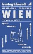 Wenen en omgeving F&B -Stadsatlas 1:20 000