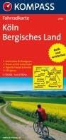 Kompass FK3056 Koln, Bergisches Land -Fietskaart 1:70 000