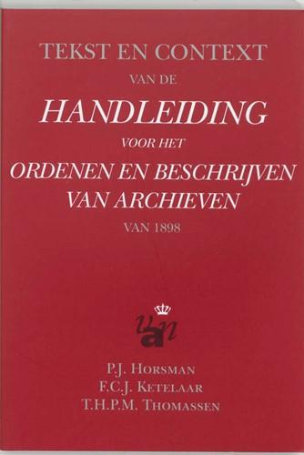 Tekst en context van de handleiding voor Horsman, P.J.