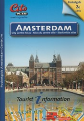 Cito-plan Amsterdam centrum pocket -city centre atlas ' atlas entre ville ; stadtmitte atlas