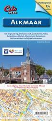 Plattegrond Alkmaar -met Bergen, De Rijp, Driehuize n, Graft, Grootschermer, Heilo