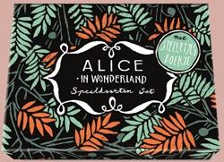 Alice in Wonderland - Speelkaartenset -met spelletjesboekje