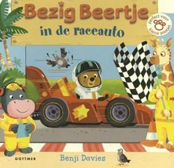 Bezig Beertje in de raceauto -Perfect voor kleine pootjes Davies, Benji