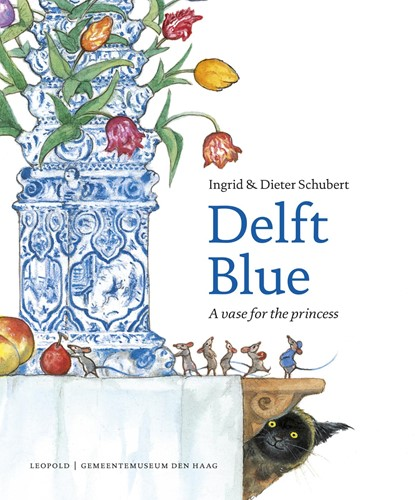 Delft Blue -a vase for the princess Schubert, Ingrid