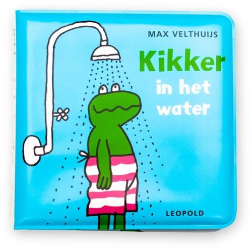 Kikker in het water -badboekje met piepertje Velthuijs, Max