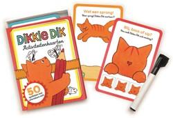 Dikkie Dik Activiteitenkaarten -50 spelletjes met uitwisbare s tift Boeke, Jet