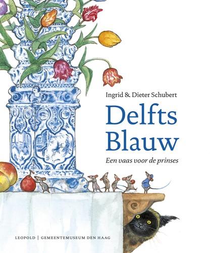 Delfts Blauw -een vaas voor de prinses Schubert, Ingrid