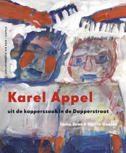 Karel Appel -uit de kapperszaak in de Dappe rstraat Dros, Imme