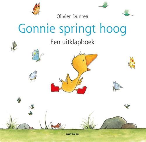 Gonnie springt hoog -Een uitklapboek Dunrea, Olivier