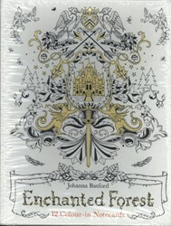 Enchanted Forest Notecards Batsford, Johanna