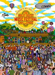 Where's My Welly -the World Greatest Music Festi val Challenge Everitt, Matt