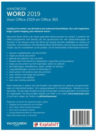 Handboek Word 2019 Kassenaar, Peter-2