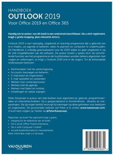 Handboek Outlook 2019 Kassenaar, Peter-2