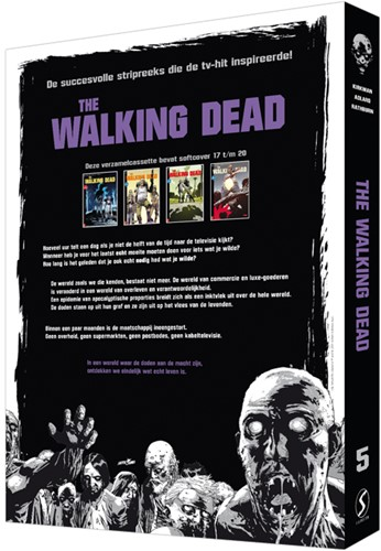 The Walking Dead SC cassette 5 -inclusief softcover 17 t/m 20 Kirkman, Robert-2