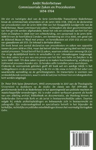 Ambt Nederbetuwe Commissoriale Zaken en Spies, P.D.-2