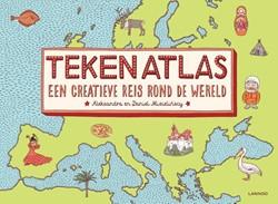 Tekenatlas -een creatieve reis rond de wer eld Mizielinscy, Aleksandra