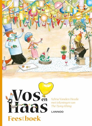 Vos en Haas Vos en Haas Feestboek Vanden Heede, Sylvia-1