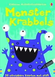 Monster Krabbels Activiteitenkaarten, al