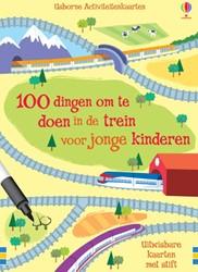 100 dingen om te doen in de trein -activiteitenkaarten