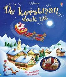 De Kerstman Deelt Uit boek + arreslee