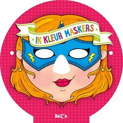 Ik kleur maskers (meisjes)