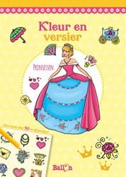 Kleur en versier Prinsessen (met wrijfpl